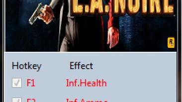 L.A. Noire: Трейнер/Trainer (+3) [2393.1.0.0] {MrAntiFun}