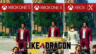 Yakuza: Like A Dragon хвалят в обзорах. Смотрим сравнение Xbox Series X, Xbox One, PS4 и PS4 Pro-версий