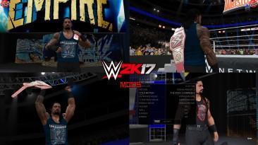 "WWE 2K17 ""Roman Reigns Champion Entrance Animation 2k20 WWE 2K19 Port MOD"""