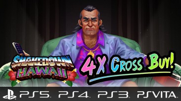 """""""Пиксельная GTA"""" Shakedown: Hawaii выходит на PS5 - с кросс-покупкой на четыре платформы сразу"""