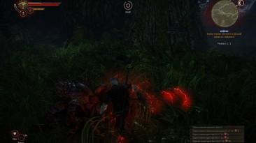 """Witcher 2 """"Темный уровень без визуальных эффектов"""""""