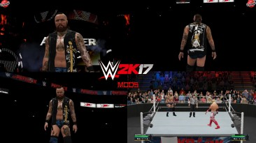 """WWE 2K17 """"Aleister Black (Raw 13.04.2020 Attire) WWE 2K19 Port MOD"""""""