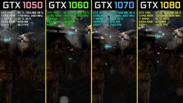 Splinter Cell: Blacklist GTX 1050 Ti vs. GTX 1060 vs. GTX 1070 vs. GTX 1080