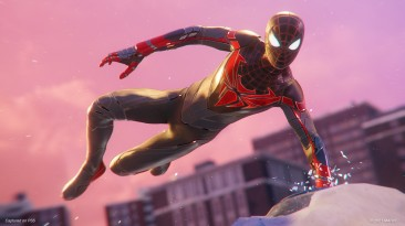 Паучок в Spider-Man: Miles Morales подкачался и примерил новый костюм