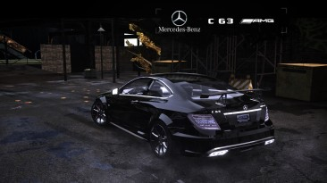 """Need for Speed: Most Wanted (2005) """"2012 Mercedes-Benz C 63 AMG Coupe Black Series C204"""""""