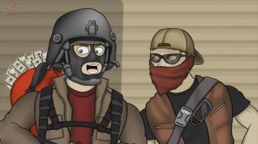 Друзья по Battlefield – Ограбление (5 сезон 13 серия) [Перевод PlayGround.ru]