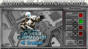 Star Wars ~ Republic Commando: Трейнер/Trainer (+6) [1.0] {sILeNt heLLsCrEAm / HoG}