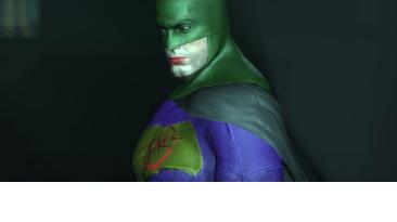 """Batman: Arkham City """"Batman VS Supermen Jokerized"""""""