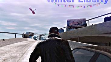 "Grand Theft Auto 4 ""Winter Liberty V2"""