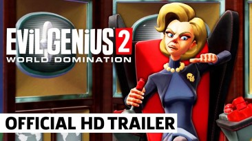 Геймплейный трейлер Evil Genius 2: World Domination