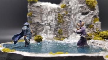 Фанат создал диораму, вдохновленную игрой Ghost of Tsushima