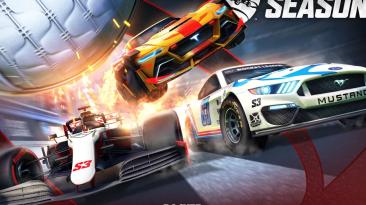 В третьем сезоне Rocket League на стадионе появятся F1 и NASCAR