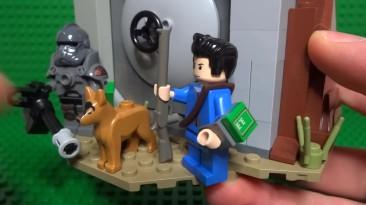 Как собрать Lego Fallout 4 Единственный выживший (с силовой броней)