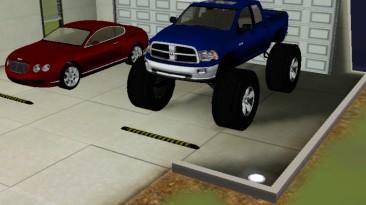 "Sims 3 ""Машина Dodge Monster Truck (автор FreshPrince)"""
