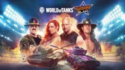 В World of Tanks для консолей стартовал кроссовер со звёздами рестлинга