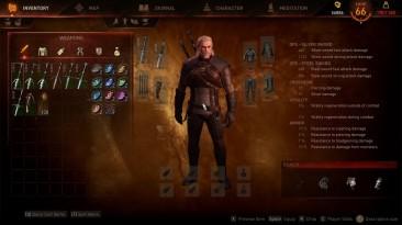 "Witcher 3: Wild Hunt ""E3 Hud and UI v1.2"""