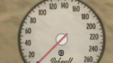 "Grand Theft Auto: San Andreas ""SpeedoSA v1.0.1 (Спидометр)"""