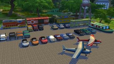 """Sims 4, the """"Мод добавляющий декоративные машины из игры"""""""