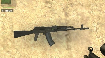 """Counter-Strike: Source """"AK-74M from EFT"""""""