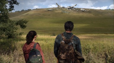 Педро Паскаль и Белла Рамзи на первом кадре экранизации The Last of Us от HBO