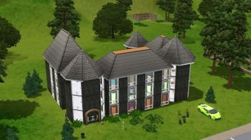 """The Sims 3 """"Большой дом в стиле средневековья"""""""