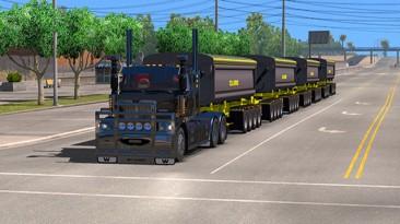 """American Truck Simulator """"Австралийские Бортовые Самосвалы Howard ATS 1.37.x"""""""