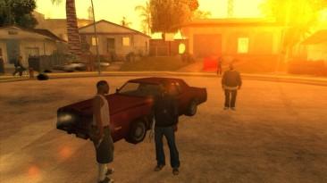 "Grand Theft Auto: San Andreas ""Beta version mod (2015)"""