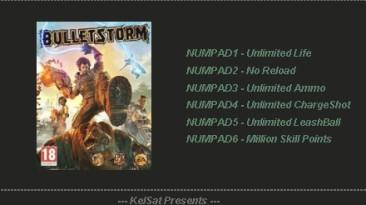 Bulletstorm: Трейнер (+5) [1.07094 - 1.07111] {KelSat}