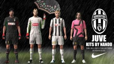 """PES 2011 """"Juventus FC Kits Pack 2011/2012"""""""