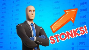 В Fortnite добавили героя мема Stonks