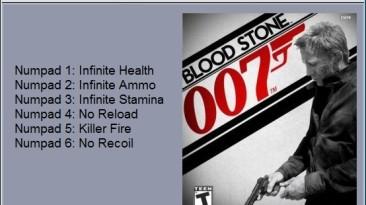 James Bond 007 - Blood Stone: Трейнер/Trainer (+6) [1.0.0.1] {24K}