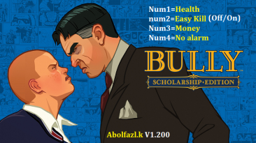 Bully: Scholarship Edition: Трейнер/Trainer (+4) [1.200] {Abolfazl.k}