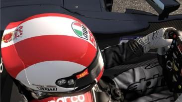 "F1 2011 ""Marco Simoncelli Tribute Helmet"""