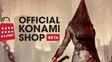 Официальный магазин Konami тизерит новый мерч Silent Hill