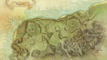 """ArcheAge """"Карта мира и карты локаций в HD (1856x1212)"""""""