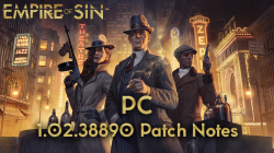 Новый патч стал доступен для Empire of Sin