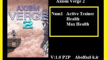 Axiom Verge 2: Трейнер/Trainer (+2) [1.0] {Abolfazl.k}