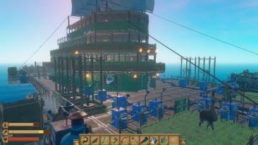 Raft: Сохранение/SaveGame (Update12:Большой плот с кучей ресурсов, пройдено всё кроме последнего острова со зданиями)