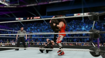 WWE (Universe) WrestleMania 2016 (Dis is Awesome) - Undertaker vs Mark Henry vs Amazing Tiger Sam (WWE World Heavyweight Championship)