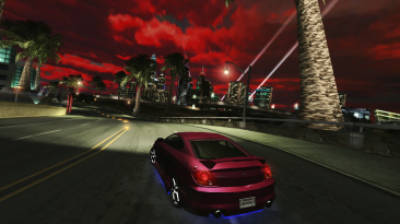 "Need for Speed: Underground 2 ""Красное небо (Red Sky mod)"""