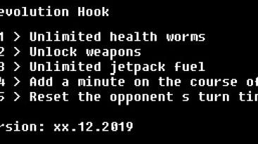 Worms: Revolution: Трейнер/Trainer (+4) [Steam] {LIRW / GHL}