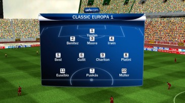 """FIFA 10 """"Пять сборных Европы классической и Сборная Мира классическая"""""""
