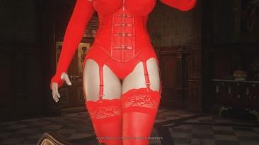 """Resident Evil: Village """"Леди Димитреску в нижнем белье"""""""