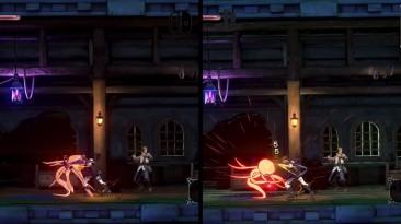 Bloodstained: Ritual of the Night - видеосравнение версий для Nintendo Switch и PlayStation 4