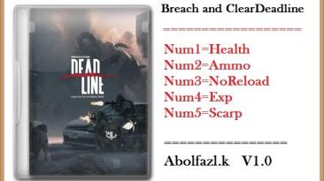 Breach & Clear: Deadline: Трейнер/Trainer (+5) [1.0: x64] {Abolfazl.k}