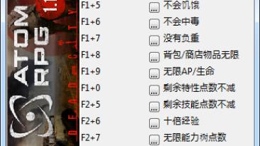 ATOM RPG: Трейнер/Trainer (+12) [1.174(Update7)] {peizhaochen}