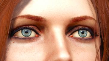 """Witcher 3 """"Реалистичные глаза (согласно книгам)"""""""