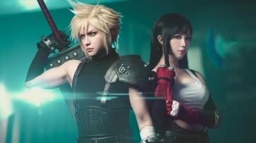 Клауд Страйф (Zack Tolosa) и Тифа Локхарт (Roxanne Kho) Final Fantasy VII