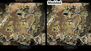 """Baldur's Gate 3 """"Улучшенное разрешение карты"""""""