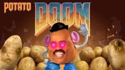 Блогер сумел запустить первый Doom на калькуляторе, запитав его от нескольких сотен клубней картошки